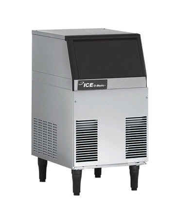 ice o matic ice making machines and ice dispensers ice o matic iceu060 cube icemaker w built in storage bin